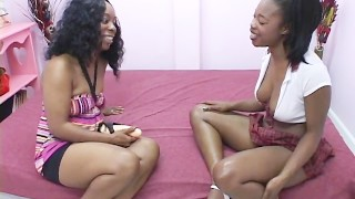 Lesbian Afro American Hair Pie 3 – scene 1