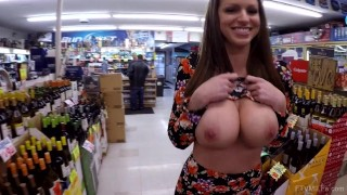 Big boobs in store