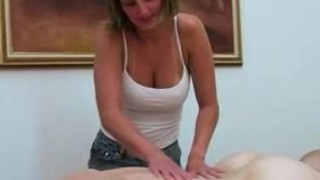 Oily massage parlour rub n' tug