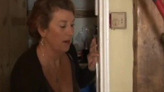 Fucking Hot Housemaid When Mom is Away