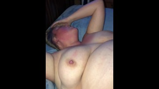 KIK friend fucks and fills wife :-)