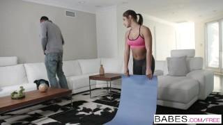 Black is Better – Hot yoga teen Abella Danger loves BBC