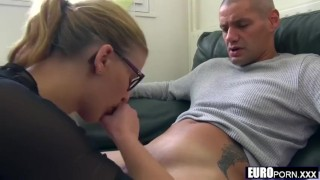 French Mother & Daughter Fuck Two Friends