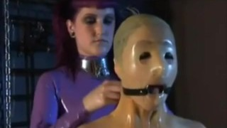 Rubber doll transformation in Latex Layers