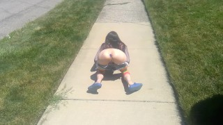 Summer Public Flashing Squirt & Buttplug – Liz Lovejoy