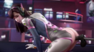 DVA playing with the sex machine