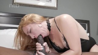 Horny redhead squirts and quivers while banged balls deep
