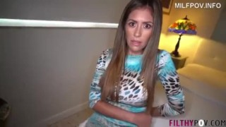 Alexa Vega – I fuck mom while dad is out and cum inside her