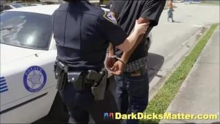 Milf Female Cops Abusing Criminal With Huge Black Penis