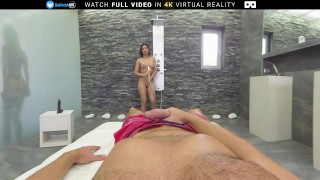 BaDoink VR The Best Threesome Experience With Hot Teens Christen And Julia