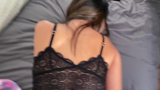 Busty Asian College Babe DEMANDS A Morning Creampie! POV 60FPS!